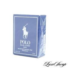 NIB Polo Ralph Lauren Blue 2.5oz Eau de Toilette Made USA Blue Cologne Spray #1