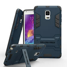 Samsung Galaxy Note 4 Case Cover Armor Luxury Kickstand with HD Screen Protector