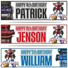 Power Rangers Birthday, Child Party Supplies