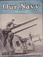 MID AUGUST 1950 KOREAN ERA OUR NAVY THE STANDARD MAGAZINE OF THE US NAVY VGC