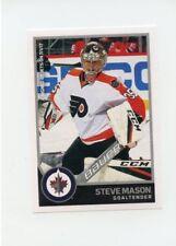 17/18 PANINI NHL STICKER #435 STEVE MASON JETS FLYERS *40740