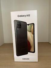 "New Samsung Galaxy A12 6,5"" 64GB Black Smartphone - Zwart.Sealed .Sim Lock Free"