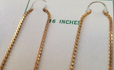 "16"" VINTAGE GOLD CHAIN 1/20 12 KARAT GOLD FILLED SOLDERED MEN / WOMEN >Old Stock"