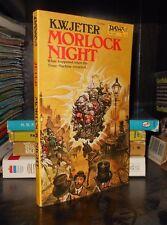 MORLOCK NIGHT by K.W. Jeter Paperback Daw UE1468 NM- 1979 1st Edition & Printing