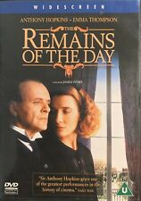 Remains Of The Day Anthony Hopkins  New Sealed DVD
