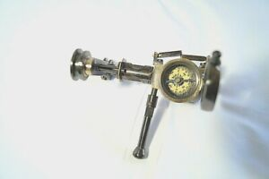 Vintage Solid Brass Binocular Adjustable Opera Classic Glasses with Compass ADB1