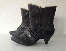 FIRETRAP Witch Stiefeletten grau Gr.40 Damen Schlupfstiefel Ankle Boots TOP