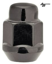 (23pc) BLACK CUSTOM 1/2 WHEEL LUG NUTS JEEP WRANGLER Part # AP-1904BK