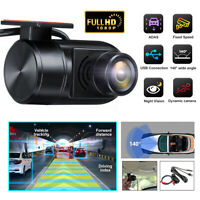 HD 1080P USB Car DVR Camera 140° Video Recorder Night Vision For Android 4.3+