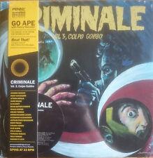 Criminale Vol. 3 Colbo Gobbo LP & CD Penny Records Italian OST Library Music