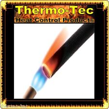 Insultherm - 12.7mm x 1.8m - Black Protective Heat Shield Sleeve up to 650°C
