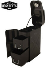 Trail Can Utility Tool Box Rampage Products Jerry Can Style Black 86635