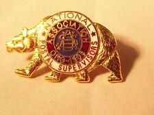 California National Postal Supervisor's Pin~Naps~Metal~H&H LA-CA-Hatpin-Pinback