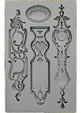 Escucheons #1 Art Decor Silicon Mould Mold Soap, Candy, Chocolate, Paper & Clay