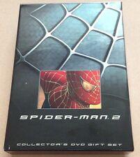 Spider-Man 2 Deluxe Collector's Dvd Box Set + Extras Region 1 Marvel Spiderman
