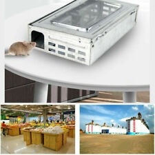 2-Pack Rat Trap Cage Humane Safe Self Catching Metal Reusable Mice Rodent Trap
