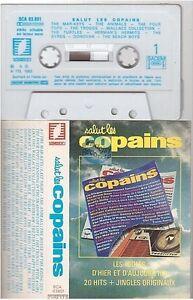 SALUT LES COPAINS cassette K7 tape animals four tops byrds donovan troggs cher