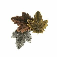 Gift Girl Maple Leaf Shape Garment Accessories Fashion Jewelry Brooch Pin
