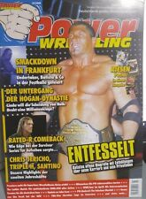 Power Wrestling 01/2008 WWE WWF WCW + 4 Poster (Jericho, Rumble, Beth, HHH)