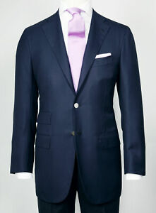 Kiton Abend-Blazer IN Blue With Chrome-Plated Buttons RegEUR3190