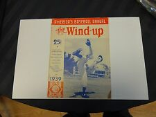 1939 The Wind Up America's Baseball Annual Volume 1