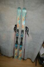 SKI ROSSIGNOL PASSION TAILLE 154 CM + FIXATION 90  + BATONS + HOUSSE WEDZE SCI