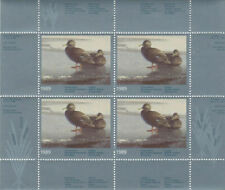 1989 Canada Quebec  Wildlife Habitat Conservation  -DQ4    Mint NH