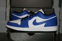 Nike Air Jordan 1 Low Game Royal Men's Shoes 553558 124 NEW IN HAND