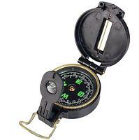 Lensatic Objektiv Kompass Marschkompass BLACKDIAL schlagfest fluoreszierend