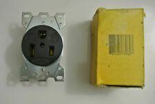 NEW HUBBELL WIRING DEVICE-KELLEMS HBL9367 Receptacle, 50A, 250V, 6-50R, 2P, 3W,