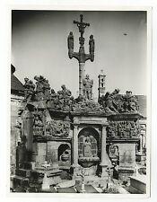 Giumiliau Parish Close - Vintage 7x9 Publication Photograph - France