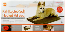 """New listing K&H Manufacturing Lectro-Soft Heated Dog Pad with Cover Size: Medium 24"""" L x 19"""""""