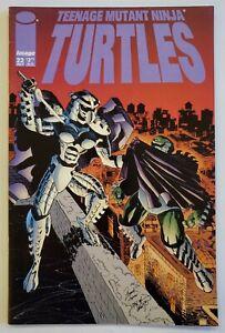 Teenage Mutant Ninja Turtles #22 VF+  1ST APP OF LADY SHREDDER!!!  KEY!!!  VHTF!