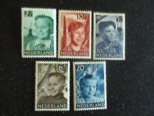 Netherlands #B229-33 Mint Hinged WDWPhilatelic (H5K8)
