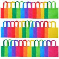 40 Pack Party Gift Bags Non-woven Tote Bags Treat Bags with Handles Party Favors
