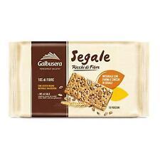 Crackers Multigrains Galbusera Seigle avec Farine et Grains 380gr