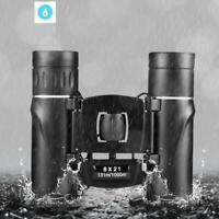 1000 m Foldable HD Powerful Mini Telescope Compact Zoom Long Range Binoculars