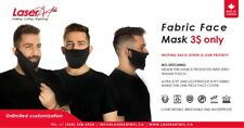 Reusable Fabric Face Mask with Breathing value 100% Canadian water proof