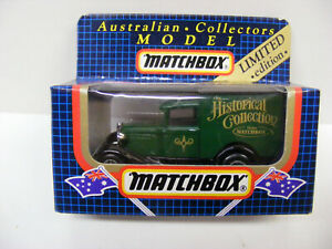 Matchbox Superfast MB38 Ford Model A The Historical Collection