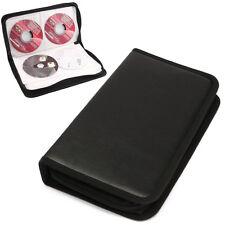 80er CD DVD VCD Disc Aufbewahrung Box Case Tasche Hülle Mappe Koffer Wallet ~