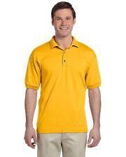 Gildan Mens DryBlend Jersey Sport Polo Shirt Tee S - 5XL 8800- G880