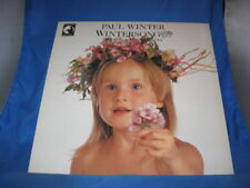 Paul Winter Wintersong LP New Age Jazz Living Music The Cherry Tree [INV-34]