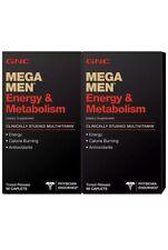 GNC Mega Men Multivitamin Energy & Metabolism 180 ct. Vitamins