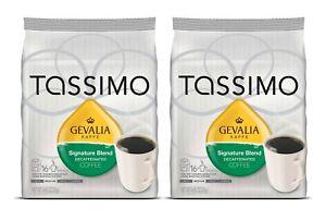 Lot 32 Tassimo Gevalia Signature Blend Decaf Coffee Med Roast Gift 0421 FreeShip
