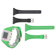 2pcs Silicone Watch Band Replacement for Polar FT4 FT7 Heart Rate Monitor