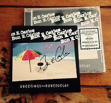 Bun E. Carlos Greetings From Bunezuela! CD Signed autographed sleeve Cheap Trick