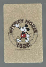 """Swap Playing Cards 1 Japanese Nichiten Disney Mickey Mouse """"1928 """" A179"""