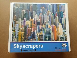Skyscrapers 1000 piece Jigsaw Puzzle.  Sealed. 14 + years. 70cm x 50cm.