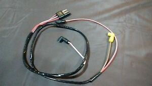 71 Ford Mustang  Engine Gauge Feed wiring harness 351 1971 V8