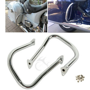 Motorcycle Chrome Rear Highway Bars Fit For Indian 2017-2020 Chieftain Limited